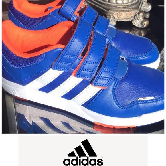 Adidas Big Kids Velcro Shoes New Unworn
